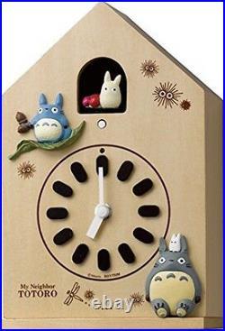 My Neighbor Totoro Karakuri character wall clock Totoro 4MH899 From Japan