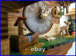 New Original Black Forest Cuckoo Clock&Weather-House, Quartz Incl Batt! Handmade