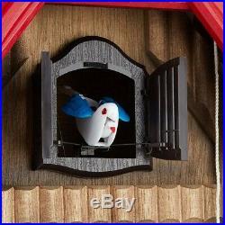 Rhythm Clock Wall Clock Analog Cuckoo Tyrolean R 4MJ732RH06 Japan Fast Shipping