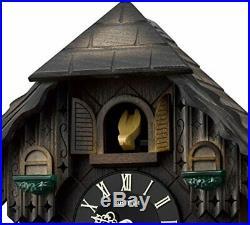 Rhythm watch Cuckoo wall clocks Cuckoo Forest Music Box Brown 4MJ422SR06