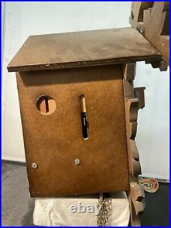 Schneider Musical Animated Cuckoo Clock Der Froliche Wanderer Edelweiss Untested
