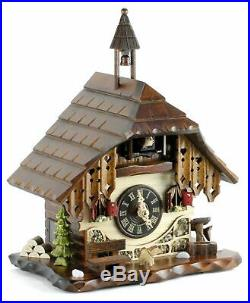 Table Clock Black Forest House 28cm- Cuckoo Clock Cuckoo Clock Real Wood