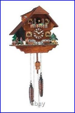 Traditional Hermle Heidelberg Cuckoo Wall Clock New