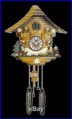 Traditional Hermle Neustadt Cuckoo Wall Clock New