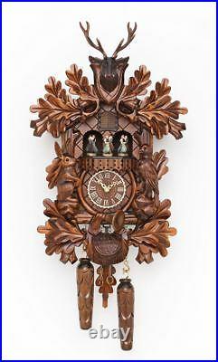 Traditional Hermle Schwarzwald Cuckoo Wall Clock New