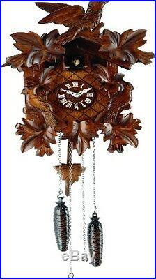 Traditional Hermle Villingen Cuckoo Wall Clock New