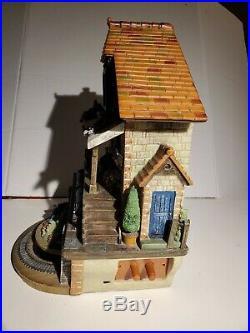 Train Cuckoo Clock The Flying Scotsman Memories of Steam Working