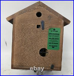 Vintage Black Forest Cuckoo Clock Wood Schneider Made In Germany / Untested