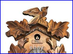 Vintage GERMAN BIRD Hand Carved Cukoo Clock Mint & Excll Working Condition