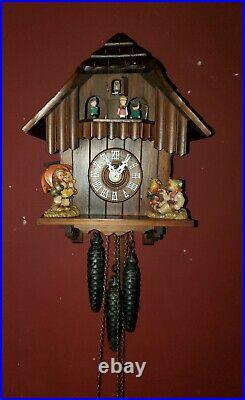 Vintage Regula Cuckoo Clock Made In Germany Musical
