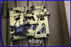 Vintage Regula West German Triple Weight Musical Cuckoo Clock, Fully Running