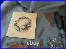 Vintage Wood German Cuckoo Clock Estate Find