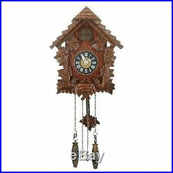 Widdop & Bingham Traditional Cuckoo Wall Quartz Clock 12 Months Warranty